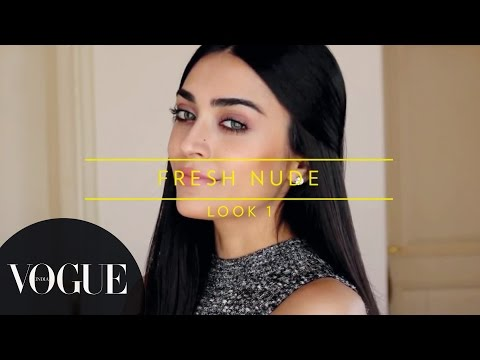 How To Get The Nude Makeup Look? | Vogue Beauty Goals with Lizah ● Makeup Tutorial | VOGUE India