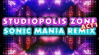 Sonic Mania OST - Studiopolis Zone Act 1 vr 1 theme