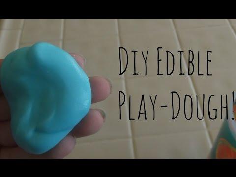 Diy Edible Playdough!
