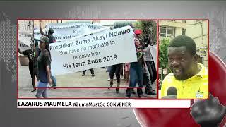 Pro & Anti Zuma marches outside Luthuli house