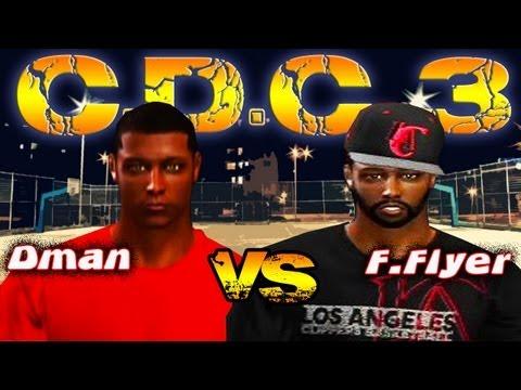 NBA 2K13 CDC3: DmanUnt2014 vs ItzFrequentFlyer | Round 1 VOTE