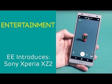 EE Introduces: Sony Xperia XZ2 - Entertainment