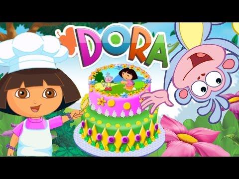 Strange Dora The Explorer Birthday Cake Ideas Funny Birthday Cards Online Elaedamsfinfo