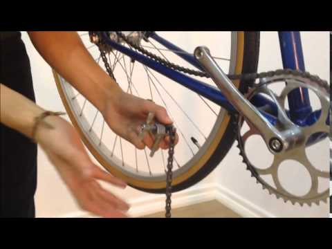How to fit a single speed freewheel + chain