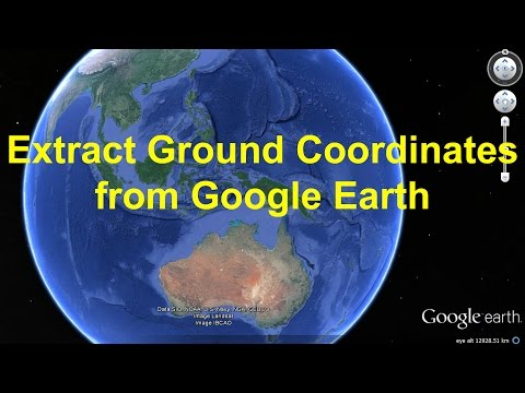 Extract Coordinates (Lat/Long) from Google Earth