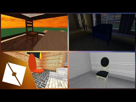 ROBLOX Studio | 4 Kinds of Chairs