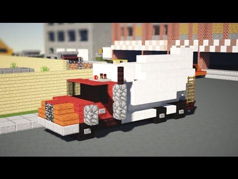 Minecraft Concrete Mixer Truck Tutorial