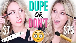 $75 MASCARA FAIL?! | DUPE OR DON