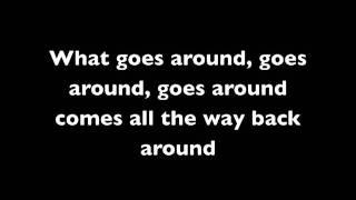 Download Justin Timberlake - what goes around comes around (lyrics on screen)