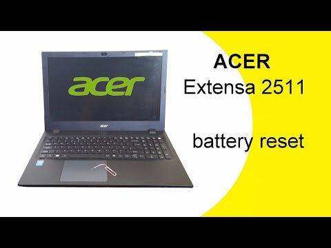 Acer Extensa 2511 Battery Reset