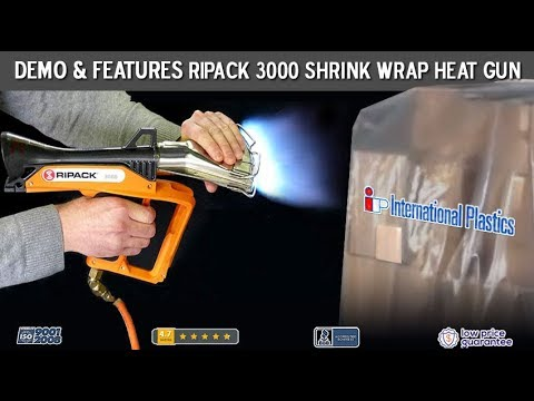 Shrink Wrap Heat Gun RIPack 3000 Propane Powered Used For Shrink Bags and Film