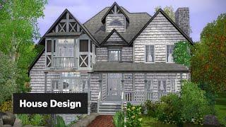 Hawthorne House • The Sims 3 House Design