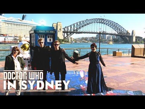The TARDIS Lands in Sydney - #WhoviansAU