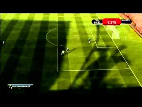 Skills Shooting Practice   FIFA 14 w RONALDO