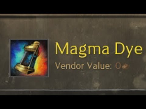 [OVER] Weekly Giveaway #51 Magma Dye  |  Guild Wars 2