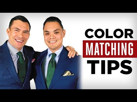 Color Matching Made EASY | 3 Simple Rules For Bringing Colors Into Your Wardrobe