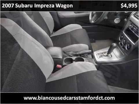 2007 Subaru Impreza Wagon Used Cars Stamford CT