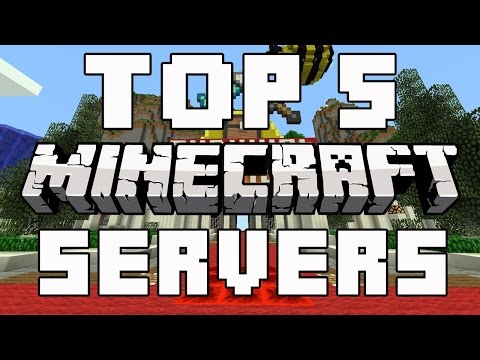 Top 5 minecraft Cracked servers!(Factions, Survival, Hunger games, etc))