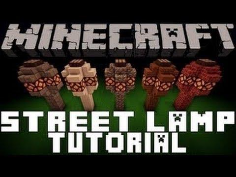 Minecraft Automatic RedStone Lamp Tutorial