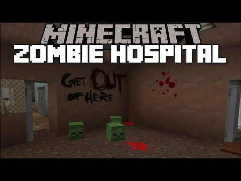 Minecraft ESCAPE ZOMBIE HOSPITAL MOD / FLEE FROM THE INFECTION!! Minecraft