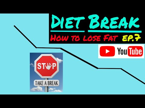 Diet break to lose weight - How to lose fat and not muscle - Ep.7