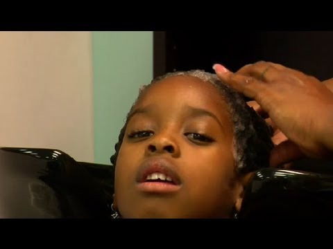 How to Get African-American, Textured Hair Silky & Smooth : African-American Hairstyling