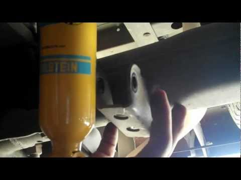 Shocks Replacement: Rear