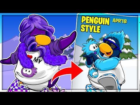 Club Penguin Rewritten - April 2018 Penguin Style Cheats