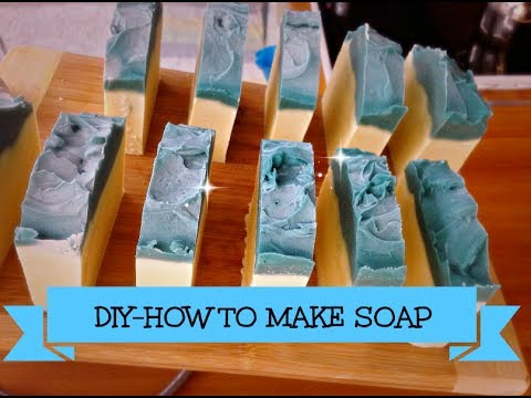 How to Make Soap at Home-Cold Process Homemade Soap Making Recipes-1