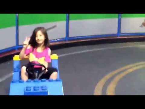 Amelia Qu (7) - 2014 San Diego Trip, Legoland, driving 3