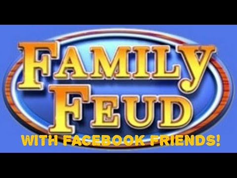 Play Family Feud on your phone with your Facebook friends! HD gameplay