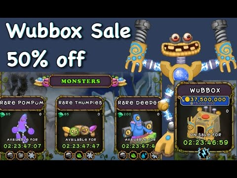 OMG WUBBOX SALE + RARE Deedge, Thumpies, Pompom