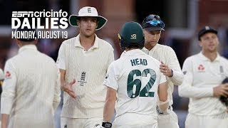 Second Ashes Test ends in draw after tense finale