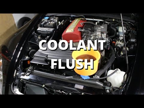 Coolant Flush | Honda S2000