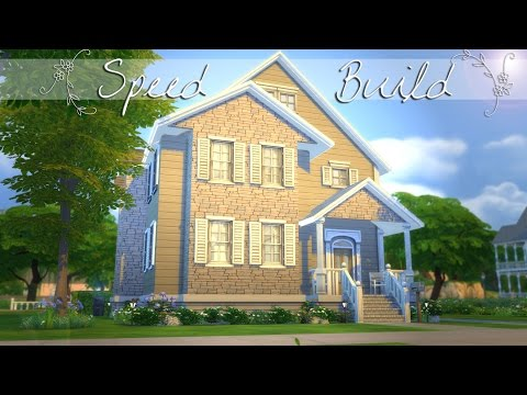 The Sims 4: Speed Build - Suburban Family Home