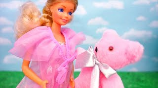 Pregnant Barbie Doll and Other Rare Barbies From the 80s for Kids - Stories With Toys & Dolls