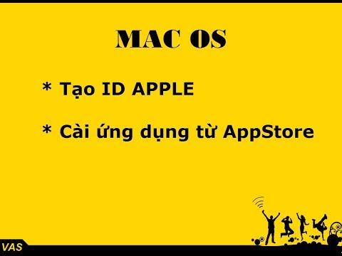 Hướng dẫn tạo ID Apple miễn phí trên Mac Book - macOS