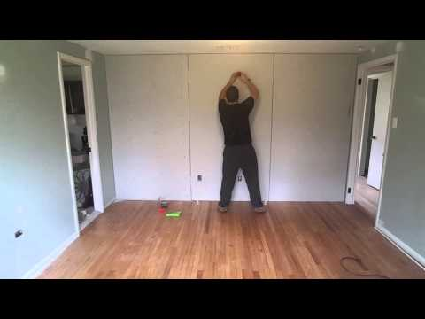 Sound Proofing Wall -  Green Glue & Double Drywall