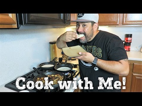 COOK WITH ME | CHORIZO & EGG | BREAKFAST BURRITO / TACO | PHILLIPS FamBam Cook with Me