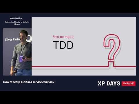 Xxx Mp4 How To Setup TDD In A Service Company Alex Babko Ukraine RU 3gp Sex