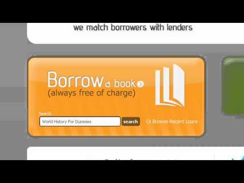 How To Borrow a Book on BookLending.com