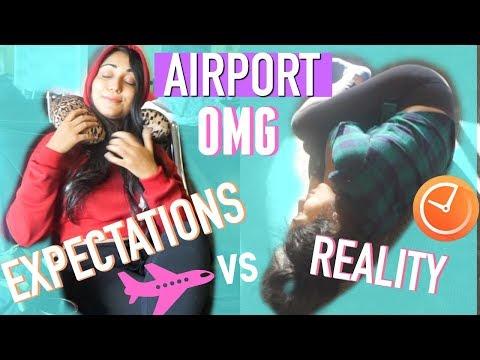 AIRPORT Expectations vs REALITY | Paris & Roxy