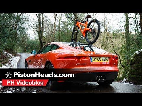 Sea Sucker Talon bike rack versus Jaguar F-Type | PH videoblog | PistonHeads