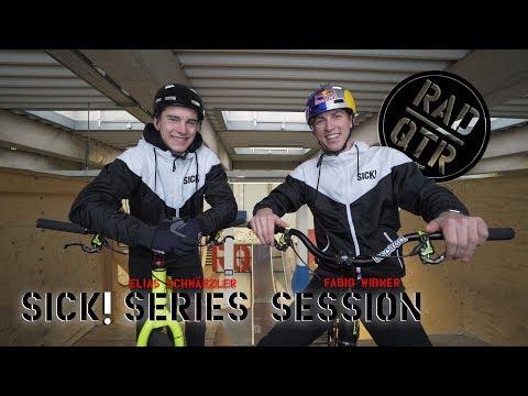 Sick Series Session with Fabio Wibmer and Elias Schwärzler | RadQuartier