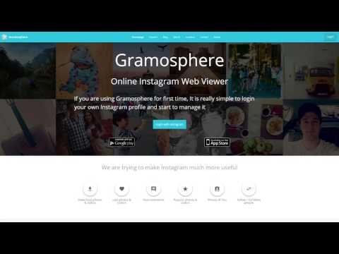 Gramosphere • Online Instagram Web Viewer
