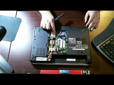 How To Replace Or Upgrade Ram Dell Inspiron 1525