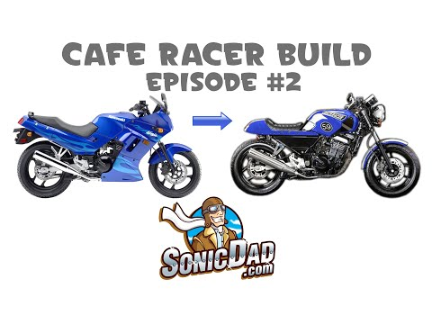 How to make a nostalgic Cafe Racer motorcycle from a Bullet Bike - Episode #2