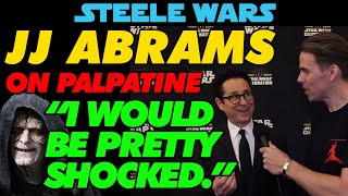 """Download JJ Abrams talks The Rise Of Skywalker """"Oh, I would be pretty shocked."""" Video"""
