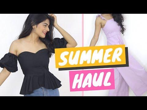 StalkBuyLove Summer/ Spring Try On Haul   Dhwani Bhatt