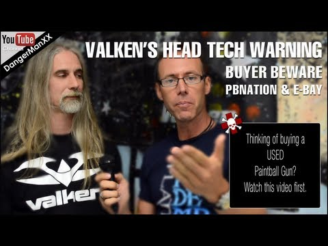 Valken's Head Gun Tech offers expert advice on how to buy a used paintball gun